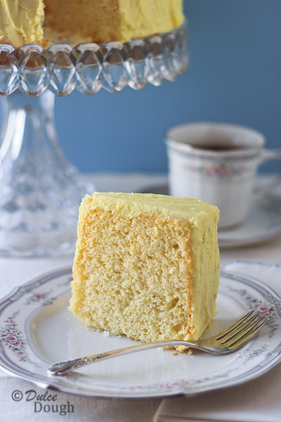 Lemon Chiffon Cake