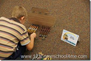 Noah's Flood Bible Station for Sunday School
