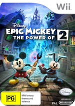 Epic Mickey 2 Power of Two Case