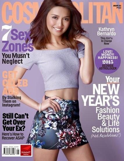 Kathryn Bernardo - Cosmopolitan PH January 2015