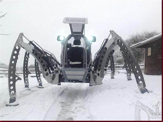 Mantis, Robot Segala Medan Berkaki Enam2