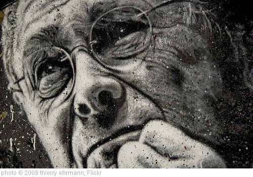 'Donald Rumsfeld, painted portrait _DDC6746.jpg' photo (c) 2008, thierry ehrmann - license: https://creativecommons.org/licenses/by/2.0/