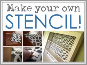 how to clean your stencil and an update on the living room stenciling. Black Bedroom Furniture Sets. Home Design Ideas