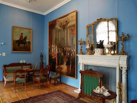 Palatul Tsarskoe Selo - interior