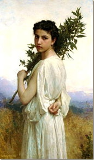 William Bouguereau, Branche de laurier