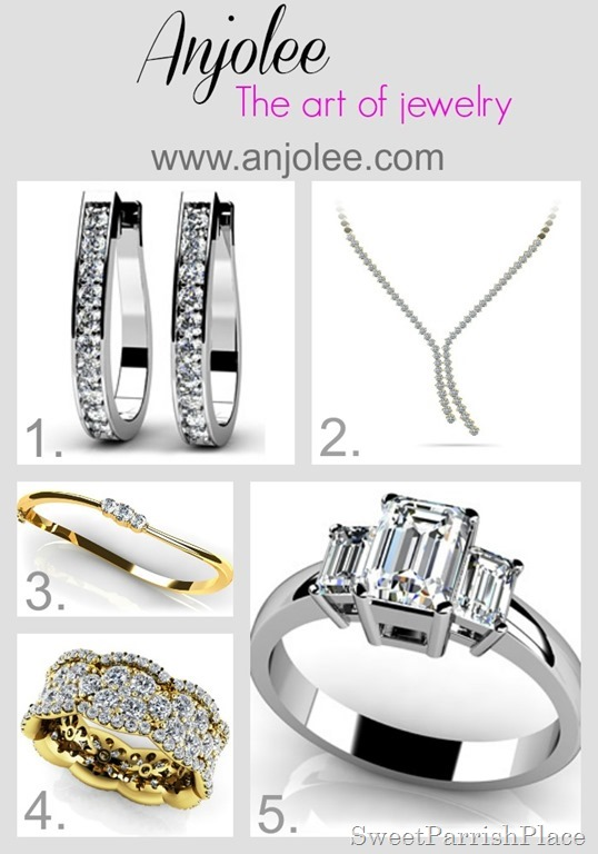 anjolee jewelry collage