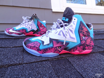 nike lebron 11 id production gumbo angel 1 05 Nike LeBron XI Gumbo iD Designed and Build by Angel