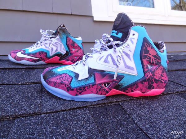 Nike LeBron XI Gumbo iD Designed and Build by Angel