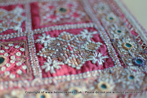 Antique Indian Embroidery 12