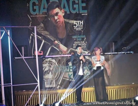 Enchong Dee garage magazine street dapper kings