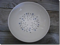 blue mist serving bowl
