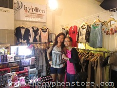 me and kari at supersale rockwell, by hyphen