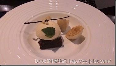 夏慕尼-香蕉巧克力蛋糕