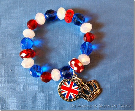 Olympics Stretchy Charm Bracelet