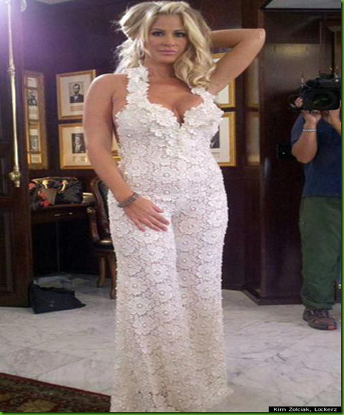 Princess Wedding Dresses: Kim Zolciak Reveals Wedding Jumpsuit