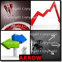 ARROW- 4 Pics 1 Word Answers 3 Letters
