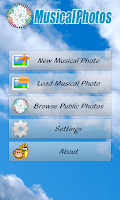 Screenshot of Music Photos
