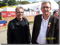 Philippe Marx et Pierre Laurent