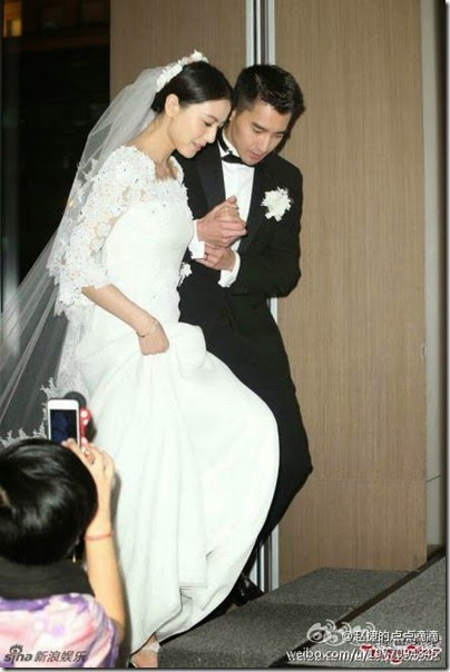 Mark Chao X Gao Yuan Yuan Wedding 赵又廷 高圆圆 婚礼 08