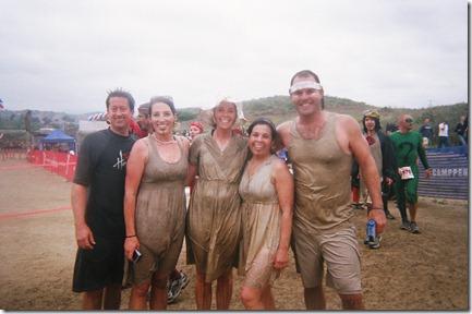 Camp Pendleton Mud Run team 2 finish