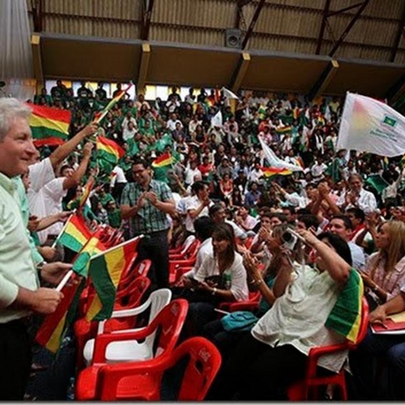 Demócratas proclaman a Rubén Costas como candidato presidencial para 2014