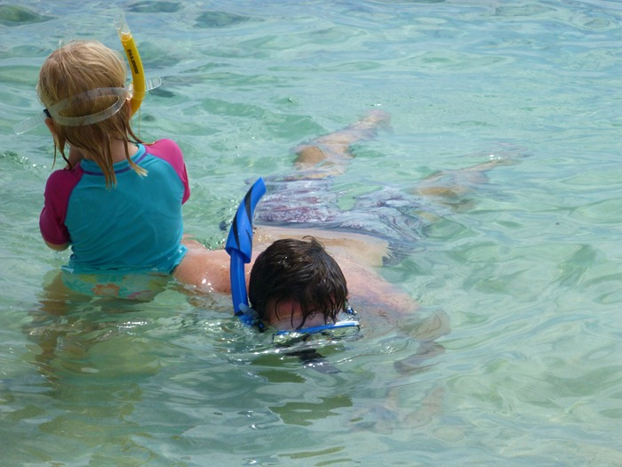 nothing screams awesome holiday more than loads and loads of snorkelling