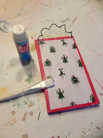 mod podge paper