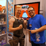 guile with Nerdblock at Fanexpo 2014 in Toronto, Ontario, Canada