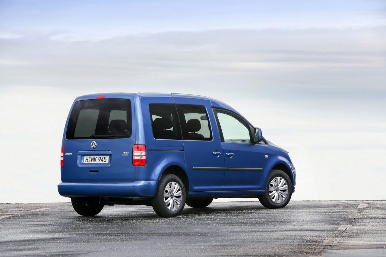 4.5 litrelik yeni 2014 volkswagen caddy bluemotion frankfurt'ta
