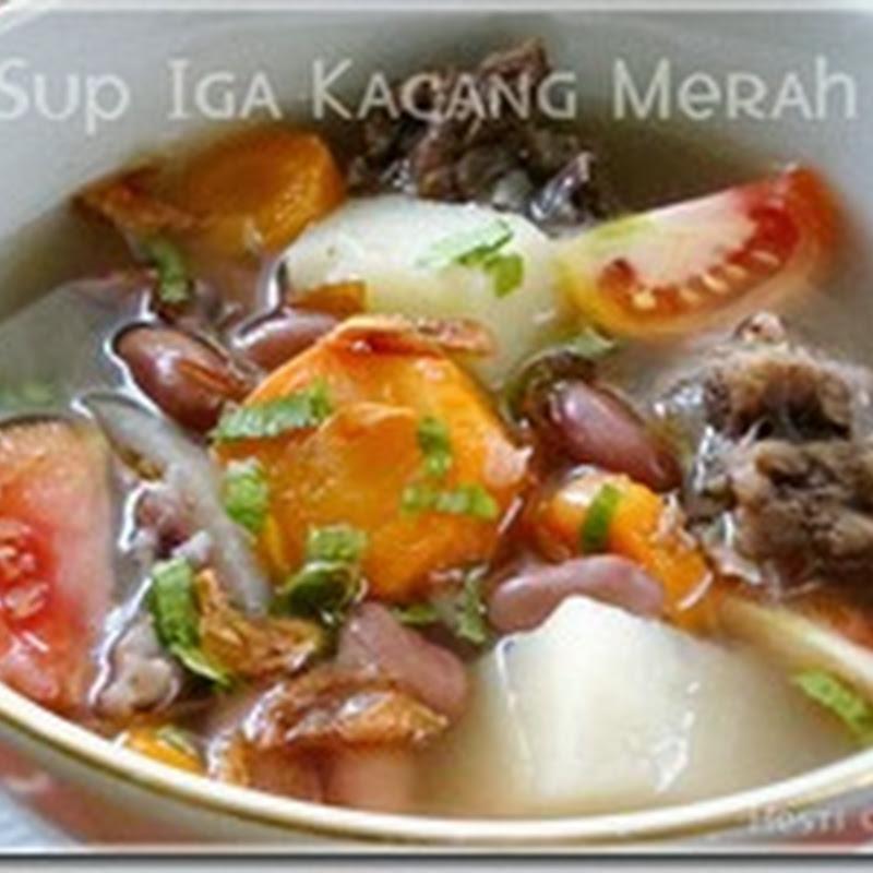 Resep Masakan Sup Iga Kacang Merah