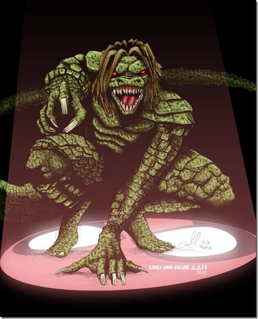 El Lagartom, Lizard,  Dr. Curt Connors (13)