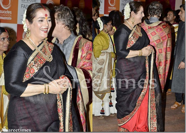 Black_Red_Half_and_Half_Saree