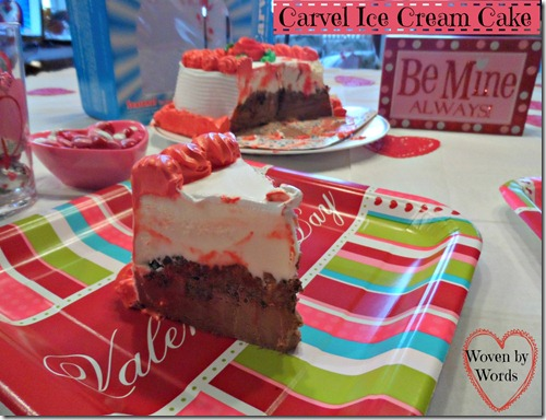 Wegmans Carvel Ice Cream Cake