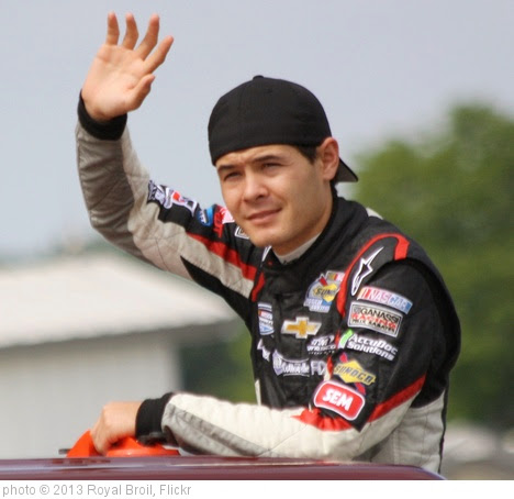 '6.22.13 Road America / NASCAR Johnsonville Sausage 200 - Kyle Larson' photo (c) 2013, Royal Broil - license: https://creativecommons.org/licenses/by-sa/2.0/