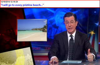 I will go to every pristine beach