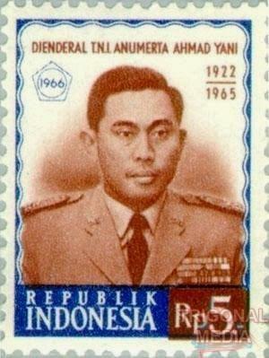 Perangko Ahmad Yani