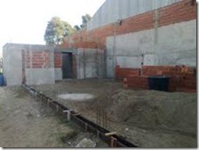 Está casi terminado el nuevo Centro Cultural de San Clemente del Tuyú