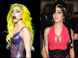 Lady Gaga e Amy Winehouse