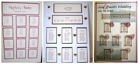 I Had The Idea Of Mounting Table Plan In A Frame Liked Silver From Wilkos Which Was Affordable Yet Still Looked Fairly Nice