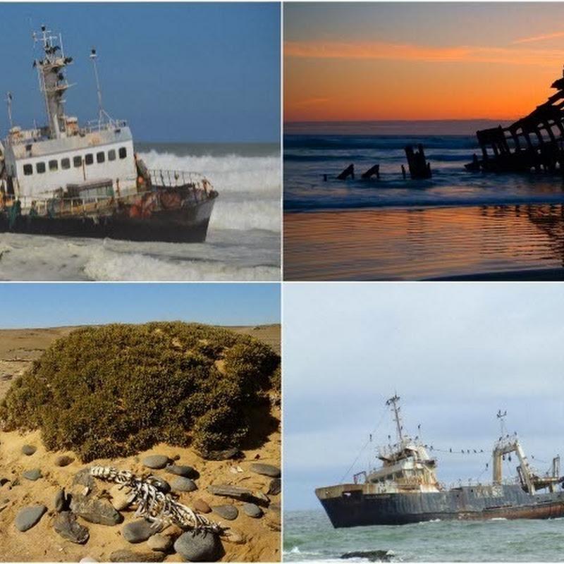 The Shipwrecks of Skeleton Coast, Namibia