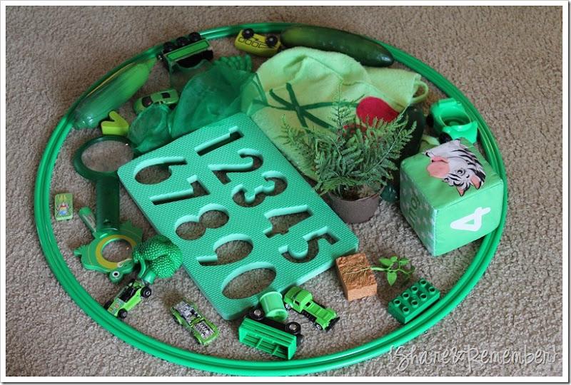 Green Sorting Hoop