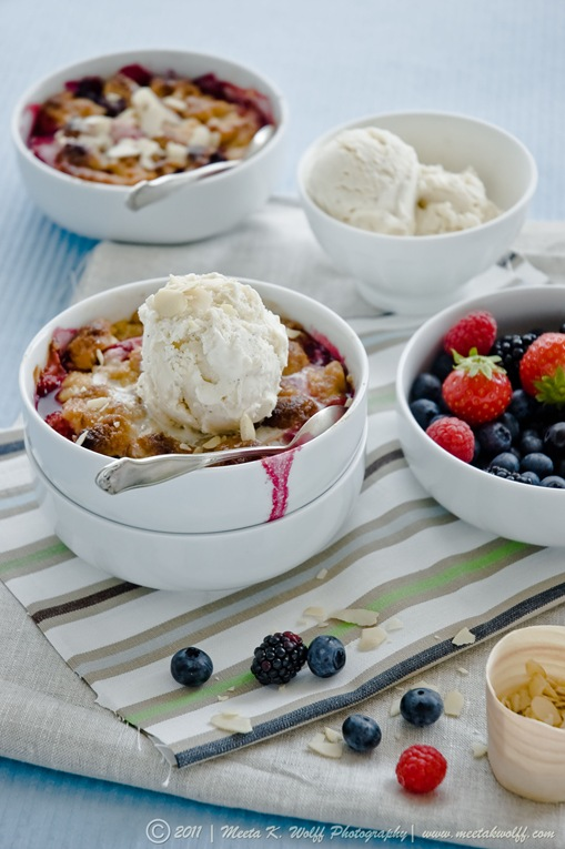 Berry Peach Cobbler (0010) by Meeta K. Wolff