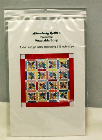 Thornberry Quilts Vegetable Soup Quilt Pattern