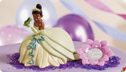 """Topo de Bolo: """"A princesa e o Sapo"""""""