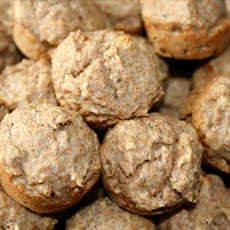 Banana Pecan Whole Wheat Mini Muffins