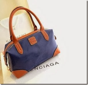 U2051 (Black, Blue, Red) 190.000 - PU Leather, 33x23x13, 0.7kg