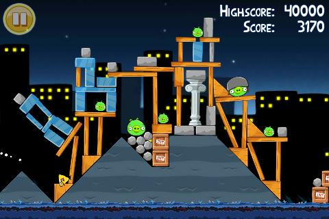 Angry Birds Free para iPhone