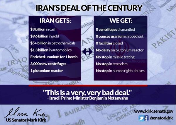 Senator Kirk Iran Deal 11 2013