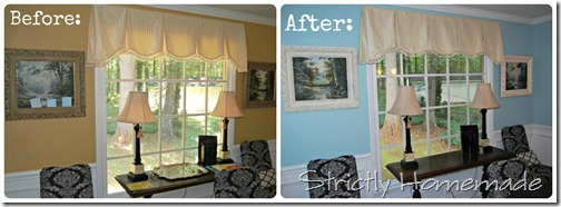 Dining Room Makeover Collage