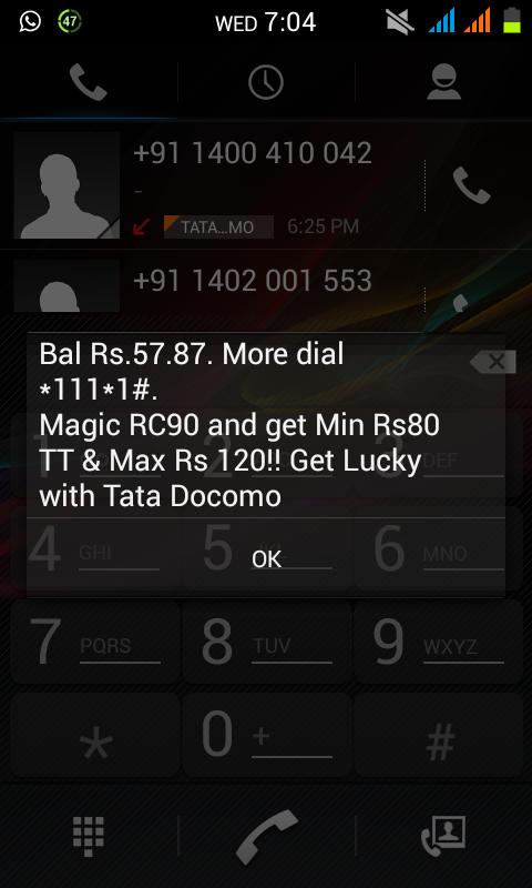 Hack recharge coupon tata docomo